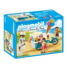 PLAYMOBIL® Family Fun Marchand de glaces et triporteur