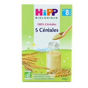 Hipp 5 céréales bio dès 8 mois