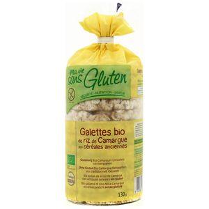 Ma Vie Sans Gluten Galette Riz Camarge & Céréales bio