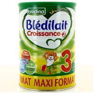 Lait poudre Blédilait Blédina Croissance 2 x 800g