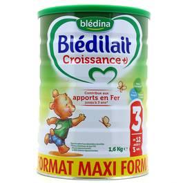 Blédina Blédilait Croissance + de 12 mois à 3 ans