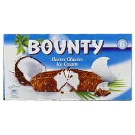 Bounty 6 Barres glacées 6x50,1ml