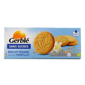 Gerblé Biscuit sésame saveur vanille - sans sucres
