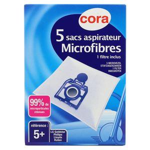Cora Sac Aspirateur Microfibres N°5+ LG Goldstar