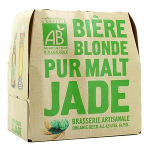 Jade Bière blonde pur malt Bio 4°5