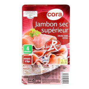 Cora Jambon sec supérieur, 100g