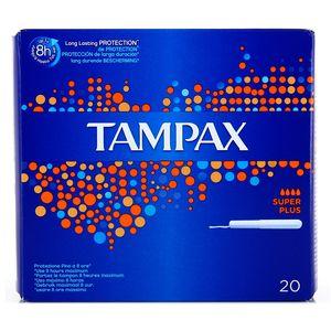 Tampax Tampons hygiéniques avec applicateur flux super plus