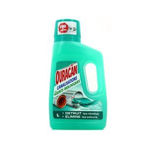 WC net Ouragan canalisations aux agents biologiques fraîcheur mentholée