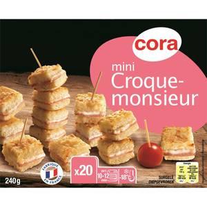 Cora 20 Mini Croque Monsieur