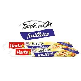 Herta Tarte en Or, Pâte feuilletée