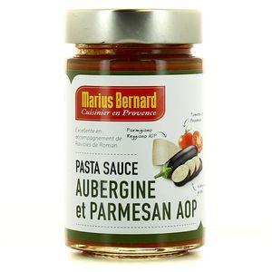 Sauce Pasta Aubergine et Parmesan AOP,MARIUS BERNARD,190g