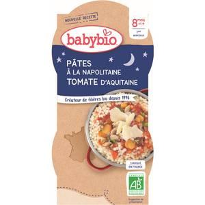 Babybio Pâtes à la Napolitaine bio, dès 8 mois