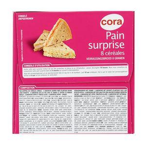 Cora Pain surprise aux 8 céréales- 32 sandwiches