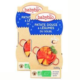 Babybio Patate Douce & Légumes du soleil bio, dès 8 mois