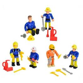 smoby figurines assorties sam le pompier 2 figurines. Black Bedroom Furniture Sets. Home Design Ideas