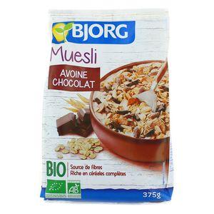 Bjorg Muesli Avoine Chocolat Bio