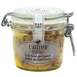 l 39 atelier labeyrie foie gras de canard entier du sud ouest en bocal 270g. Black Bedroom Furniture Sets. Home Design Ideas