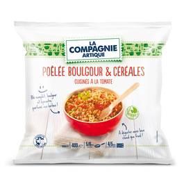 La Compagnie Artique Poêlée veggie boulgour et céréales cuisinée à la tomate