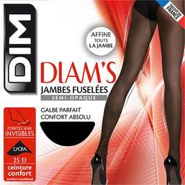 Dim Collant Diam's Jambes Fuselées semi-opaque Noir