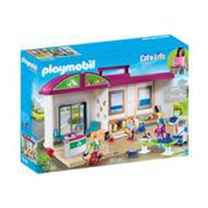 PLAYMOBIL® City Life Clinique vétérinaire transportable