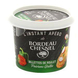 Bordeau Chesnel Rillettes de Poulet aux poivrons grillés