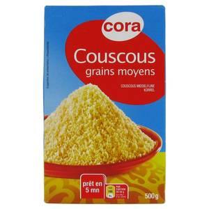 Cora Couscous grains moyens
