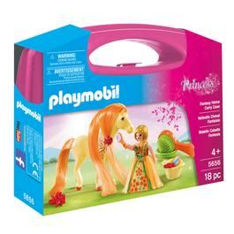 PLAYMOBIL® Princess Valisette Princesse et cheval à coiffer