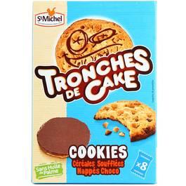 Cookies tronches de cake SAINT MICHEL, 200g