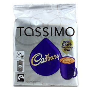 tassimo cadbury chocolat au lait 8 dosettes. Black Bedroom Furniture Sets. Home Design Ideas