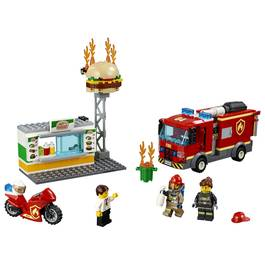 LEGO® City 60214- L'incendie dans le fast food
