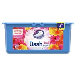 Dash Lessive - Coquelicot et fleurs de cerisier