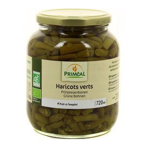 Priméal Haricots verts, Bio