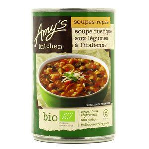 Amy's Kitchen Soupe Rustique  à l'Italienne bio et sans gluten