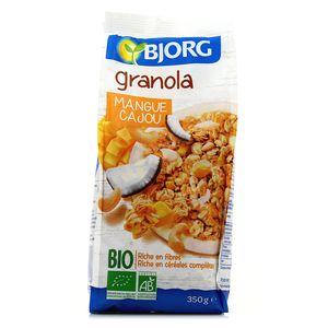 Bjorg Granola Bio Mangue Cajou