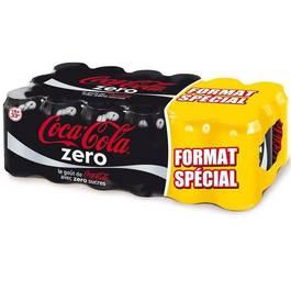Coca-cola zero boite 18x33cl