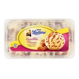 La laitière Crème glacée Vanille Pécan sauce caramel beurre salé 750ml