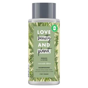 Love Beauty and Planet Shampooing cascade détox au romarin bio
