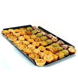 Plateau de petits fours aperitifs , 48 pièces,MIX BUFFET,48 pièces