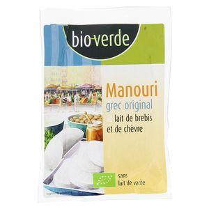BioVerde Manouri bio Fromage grec au petit lait