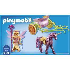 PLAYMOBIL® Fairies Fée avec carrosse et licorne