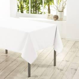 Douceur D Interieur Nappe rectangle BLANC 8/10 couverts