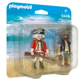 PLAYMOBIL® History Pirate et soldat