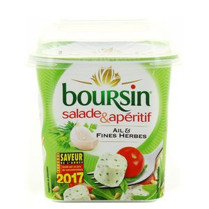 Boursin Salade Ail & Fines herbes