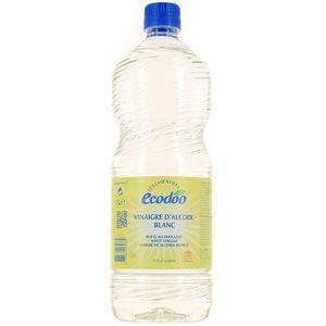 Ecodoo vinaigre d 39 alcool blanc bio 10 d 39 acidit 1l - Vinaigre blanc ou alcool ...