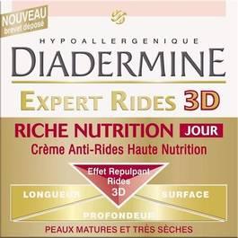 Diadermine expert rides 3D riche nutrition jour 50ml