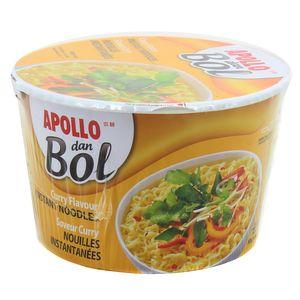 Apollo Dan Bol Nouilles instantanées saveur curry
