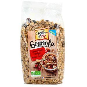 Grillon Or Granola canneberge courge noix du Brésil