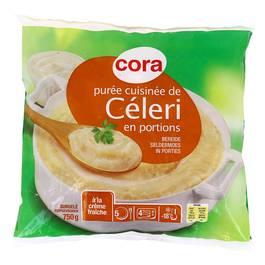 Cora Purée cuisinée de céleri à la crème fraîche en portions