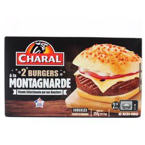 Charal 2 Burgers à la Montagnarde