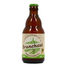 Brunehaut Bière blonde Bio sans gluten 6.5°